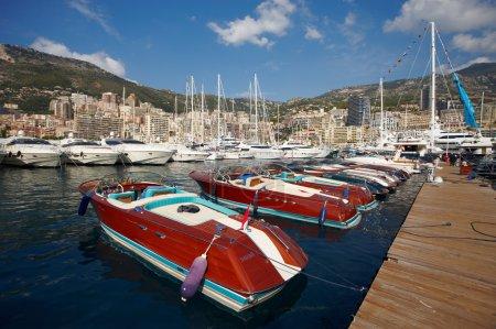 Monaco, Monte-Carlo, 25.09.2008: Yacht Show, Port Hercule, luxur
