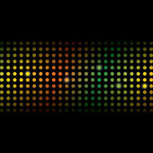 Disco Glamour Light Background