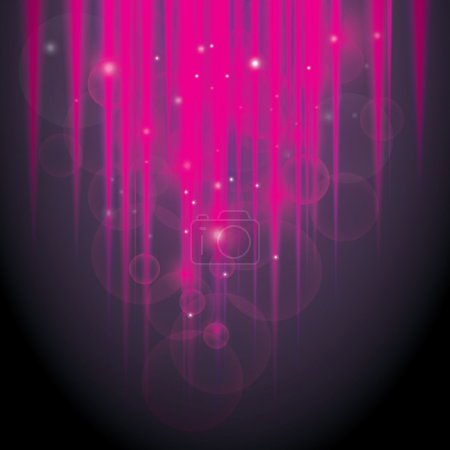 Abstract Glowing Pink Lights Background