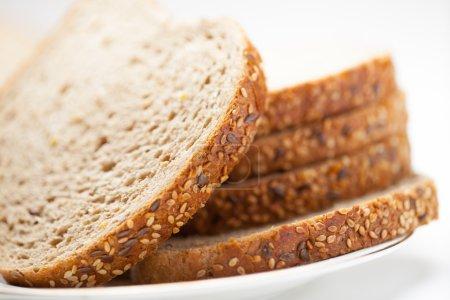 tasty sliced raisin bread