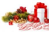 Dárek vánoční strom a candy