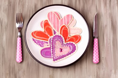 hearts on a plate, do what you love
