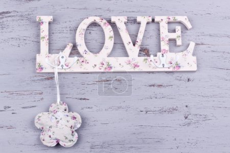Photo for Love concept , love shape haner - Royalty Free Image