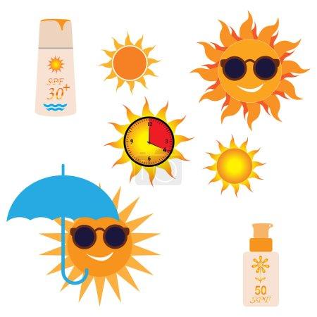 Sun Cream Containers