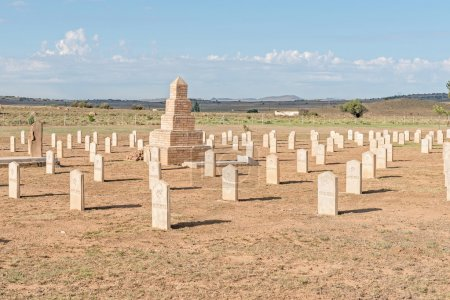 Military cemetery at Springfontein