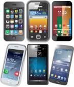 Smart Phone vettorizzati