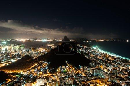 Nice Night View of Rio de Janeiro