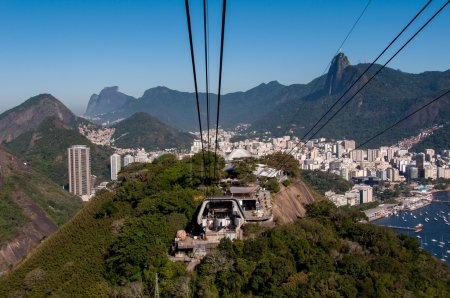 The cable car to Sugar Loaf