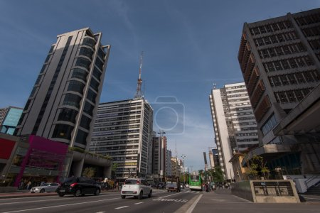 Paulista Avenue in Sao Paolo