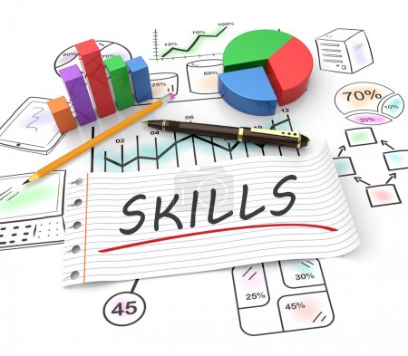 Business skills concept