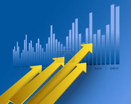 Business arrows