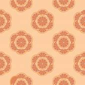 Abstract seamless pattern with oranges