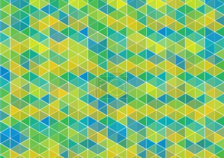Bright cubes background