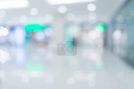 Photo pour Magasin, centre commercial Résumé Pasante arrière-plan flou - image libre de droit