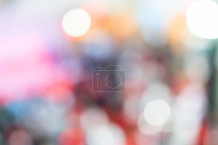 defocused blurred background.