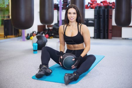 Work out fitness woman exercising