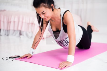 fitness athlete sportive woman