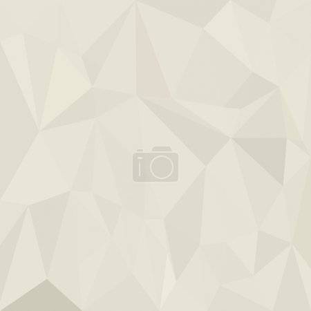 Abstract white background with triangles geometric paper