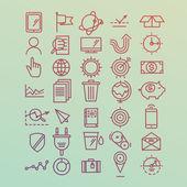 Hand drawn icons concept development management business