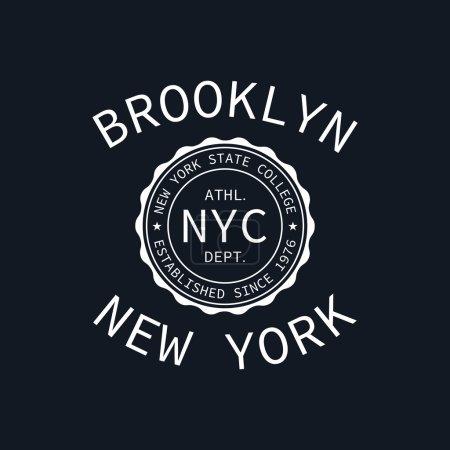 New York college of sport typography