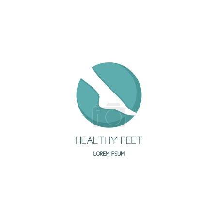 Logo of center of healthy feet
