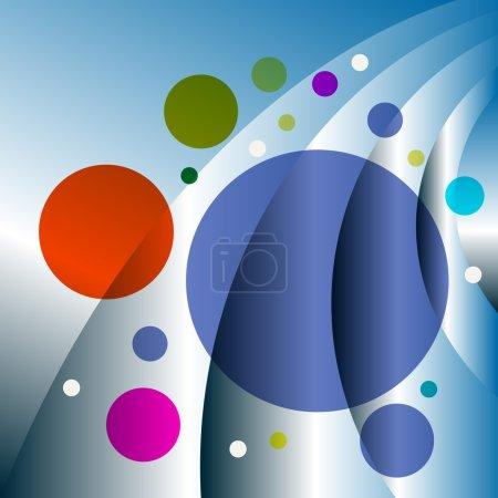 Ilustración de Resumen, Doug, arte, Composite, curva, tecnología, color, energía, blanco, torbellino. - Imagen libre de derechos