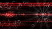 Futuristické technologie pozadí návrhu ilustrace