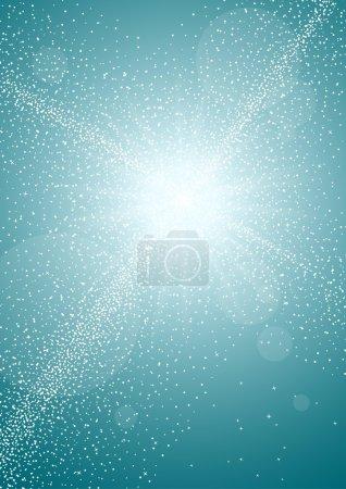 shining star lights background