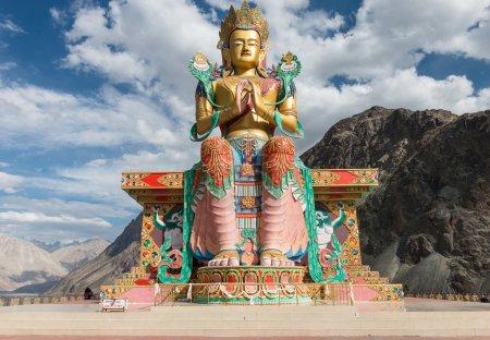 Maitreya Buddha at Nubra valley, ladakh India