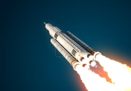 Space Launch System Takes Off