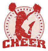 Cheer Jump Design - Vintage