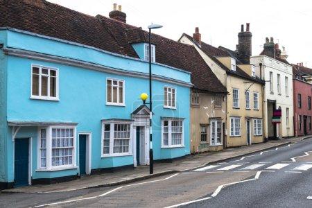 Photo pour Maison typiquement anglaise dans un style vintage - image libre de droit