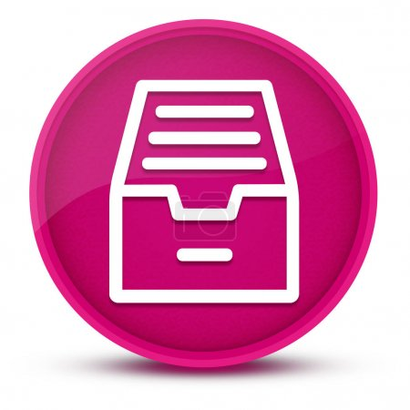 Ordnerarchivschrank luxuriös glänzend rosa runder Knopf abstrakte Illustration