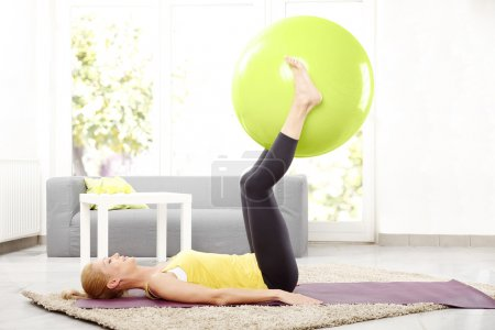 doing strengthening exercises at home.