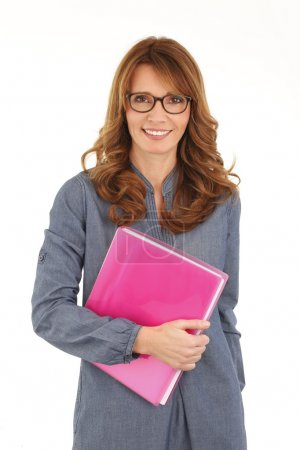 middle age female teacher