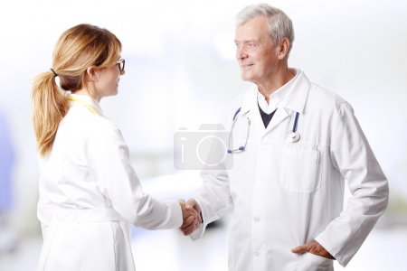 medical team consulting