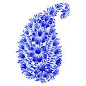 Dekorative Ornament Floral paisley