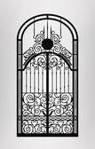Gate door icon Vector EPS10