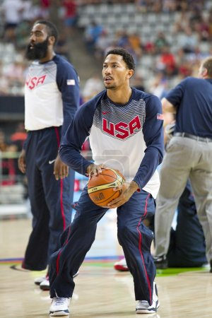 Derrick Rose of USA Team