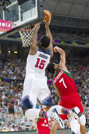 Andre Drummond of USA Team