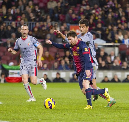 Lionel Messi of FCB