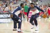 Kyrie Irving and Rudy Gay