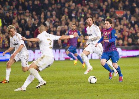 Leo Messi Barcelona vs Madrid
