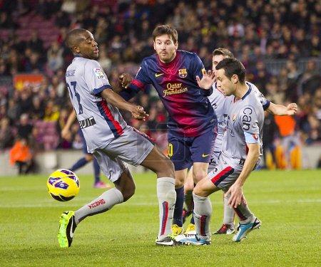 Leo Messi dribbling