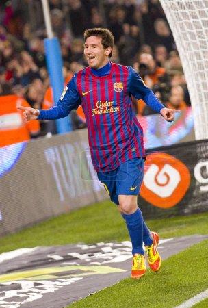 Messi goal celebration