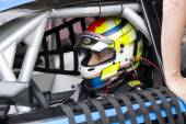 Nicolo Rocca compete at Race of Whelen Nascar Euro Series