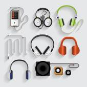 headphones speakers mp3 player