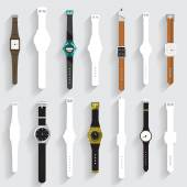 Collection of watch vector set