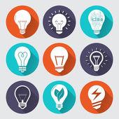 Set of light bulbs