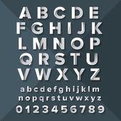 Silver Alphabet Set